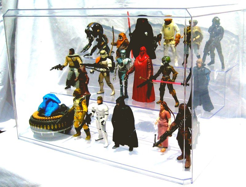 How to display your action figure collection