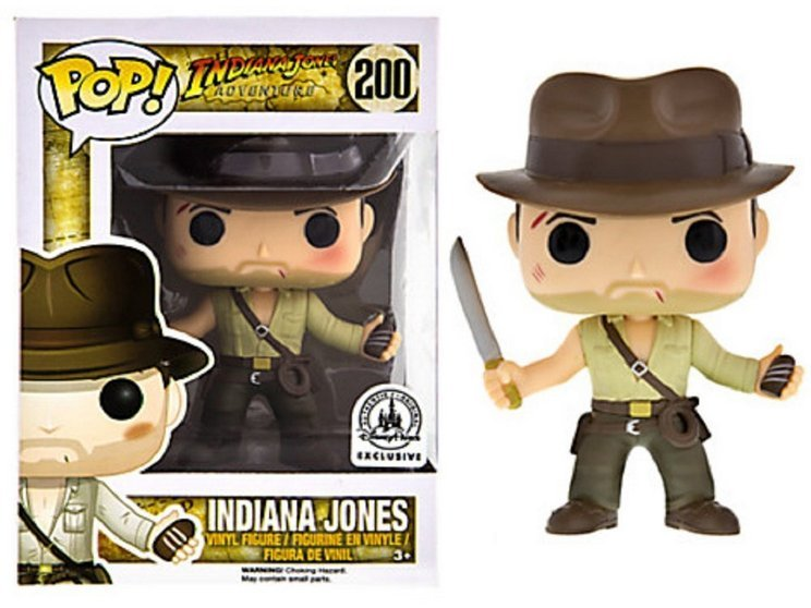 Indiana Jones Disney Parks Exclusive - Still available from Amazon