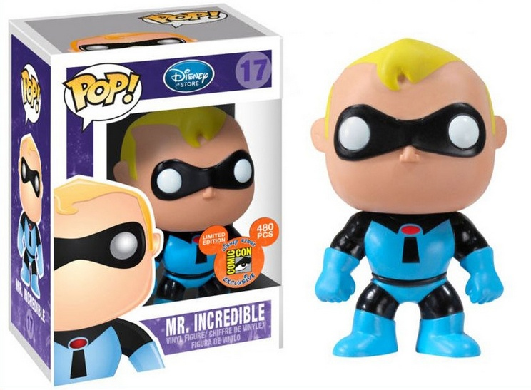 Mr Incedible - 20 Of the most collectable and rarest Funko Pop Vinyls