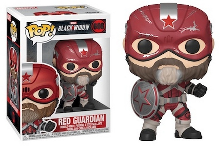 #608 Red Guardian - Black Widow Funko Pop Movie Figure Checklist