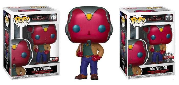 Product image for WandaVision #718 70s Vision - GameStop and Special Edition