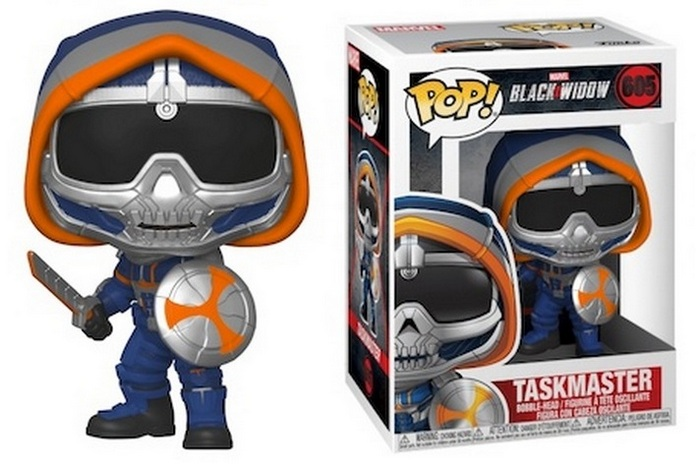 Black Widow Funko Pop Movie Figure Checklist - Taskmaster #605