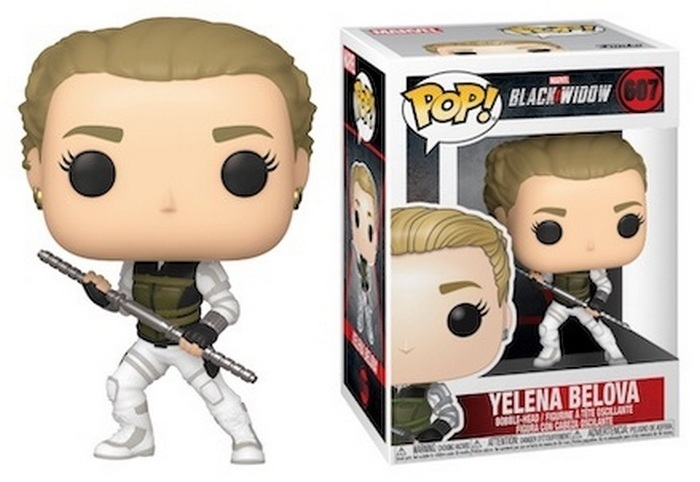 Yelena Belova - Black Widow Funko Pop Movie Figure