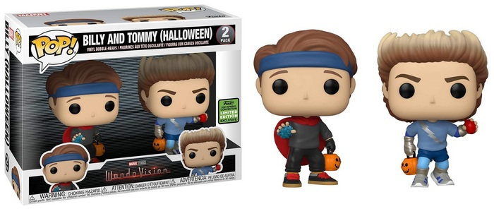 Product image - WandaVision Billy And Tommy Halloween - Emerald City Comic Con 2-Pack
