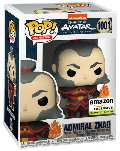 Product Image Avatar: Last Airbender 1001Admiral Zhao Amazon GITD Exclusive