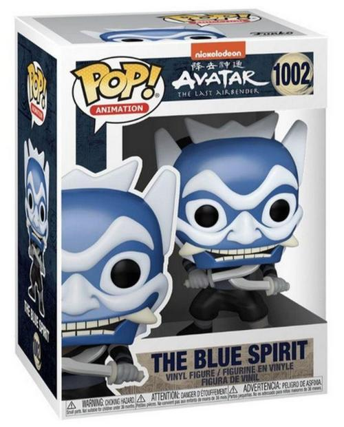 Product Image Avatar: Last Airbender 1002 The Blue Spirit and The Blue Spirit GITD Chase - Hot Topic Exclusive