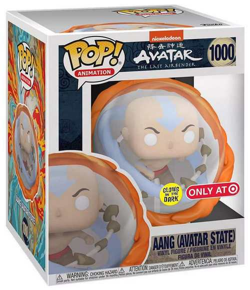 Product Image Avatar: Last Airbender 1000 Aang (Avatar State) Target Exclusive