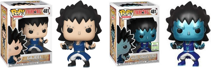 Product image - Fairy Tail Gajeel and Gajeel (Dragon Force) - 2019 ECCC/GameStop Exclusive