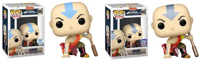 Product image - Last Airbender 995 Aang - Funko Shop and Aang Metallic - Funko Hollywood Exclusives