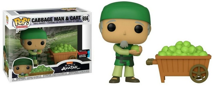 Product Image - Avatar: Last Airbender 656 Cabbage Man and Cart - 2019 NYCC