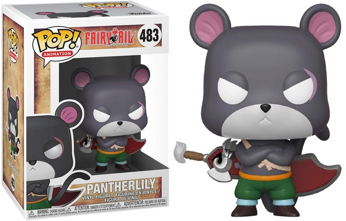Product image - Fairy Tail 483 Pantherlilly Funko Pop Vinyl