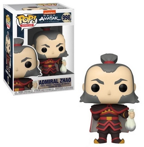 Product Image - Last Airbender 998 Admiral Zhao Funko Pop