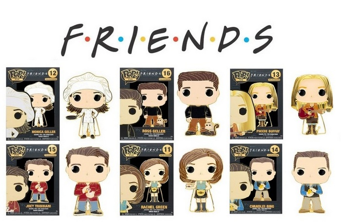 Product image Friends Funko Pop Pins - Checklist, Gallery And Buyers Guide