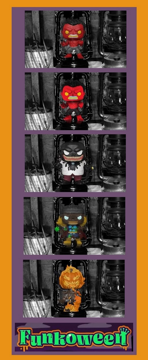 Funkoween Marvel Funko Pop product images
