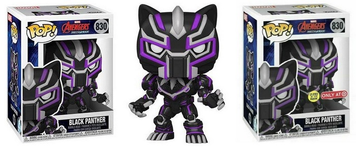 Product image -830 Black Panther and Black Panther GITD - Target Exclusive