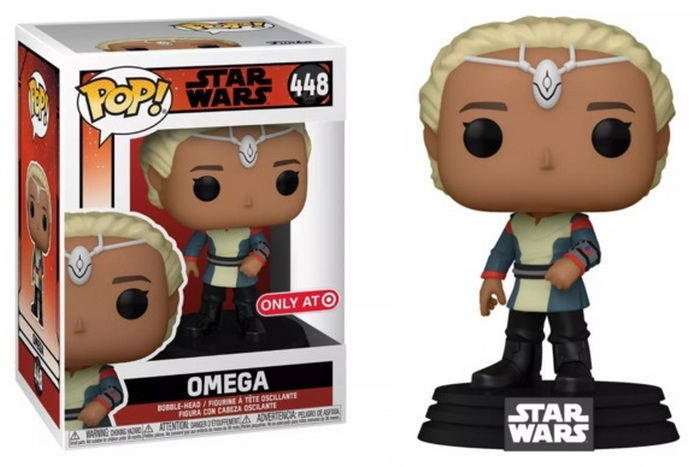 Product image - Star Wars: The Bad Batch 448 Omega Target Exclusive Funko Pop Vinyl