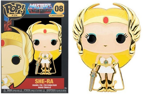 Product Image - Masters Of The Universe - 08 She-Ra Funko Pop Pin