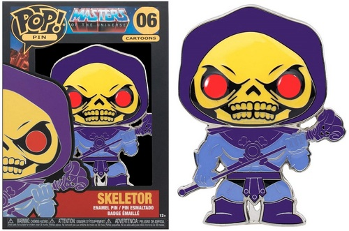 Product image - Masters Of The Universe - 06 Skeletor Funko Pop Pin