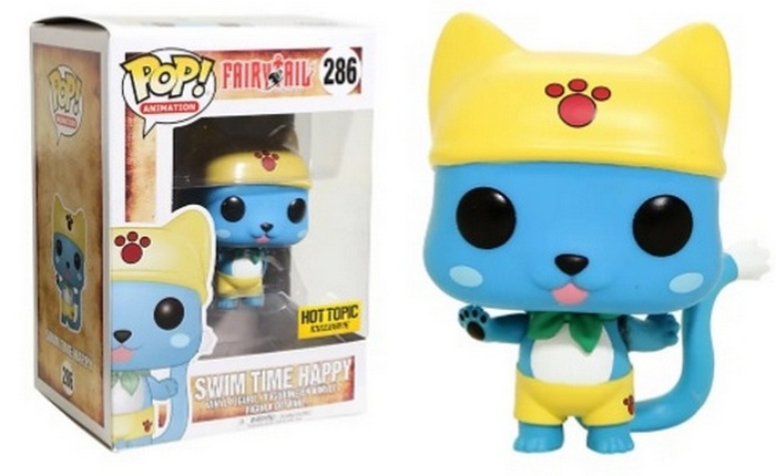 Product image - Fairy Tail 286 Swim Time Happy - Hot Topic Exclusive