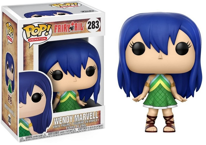 Product image - Fairy Tail 283 Wendy Marvell Funko Pop