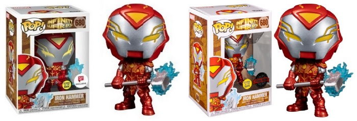 Product image - 680 Iron Hammer Glow In The dark - Walgreens Exclusive and Special Edition Pops