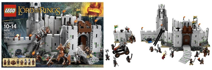 Product Image - LEGO Lord Of The Rings - The Battle of Helm's Deep 9474