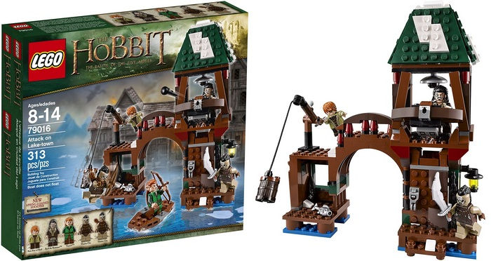 Product Image: LEGO Lord Of The Rings - The Hobbit 79016 Attack on Lake-Town (313 pcs)