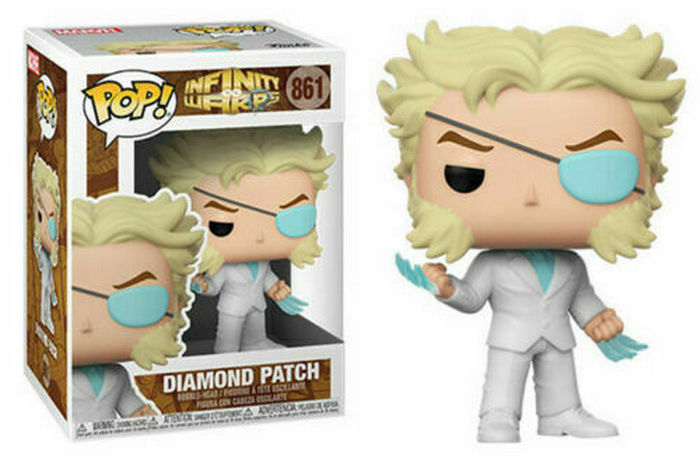 Product image - 861 Diamond Patch - Funko Pop Marvel Infinity Warps Pop Checklist And Buyers Guide
