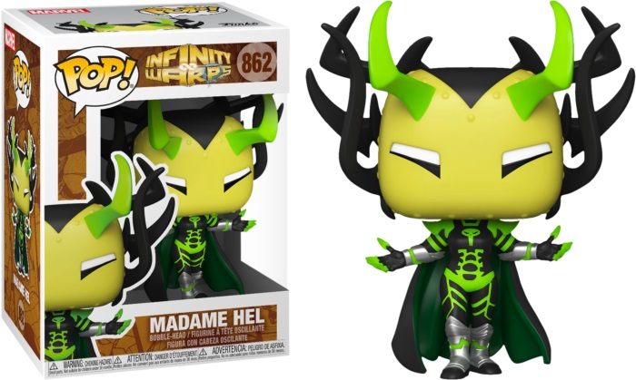 Product image - 862 Madame Hel - Funko Pop Marvel Infinity Warps Pop Checklist And Buyers Guide