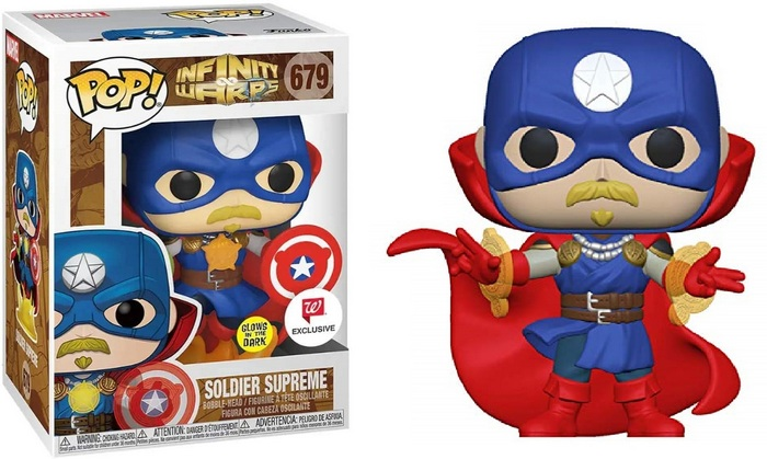 Product image for- 679 Soldier Supreme Glow In The dark - Walgreens And Special Edition