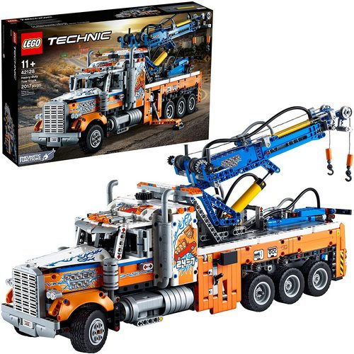 Product image - LEGO 42128 Technic Heavy-duty Tow Truck building Kit (2017 Pieces)