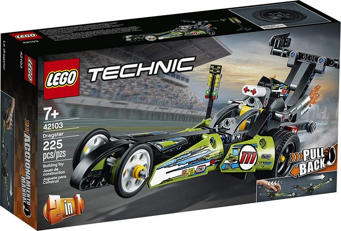 Product image - Dragster 42103 Building Kit (225 Pieces)