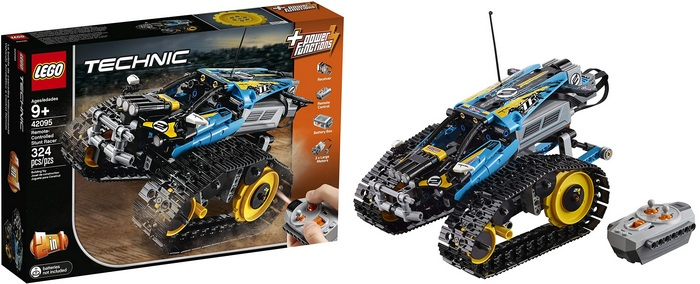 Product Image - Remote-Controlled Stunt Racer - LEGO Technic 42095 (324 Pieces)
