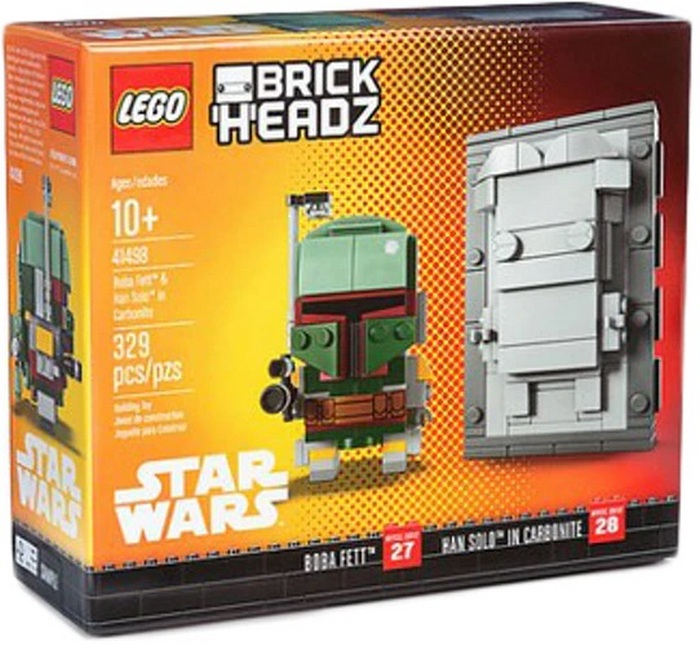 Product image - Boba Fett and Han Solo in Carbonite 41498 2-pack(329 Pcs)
