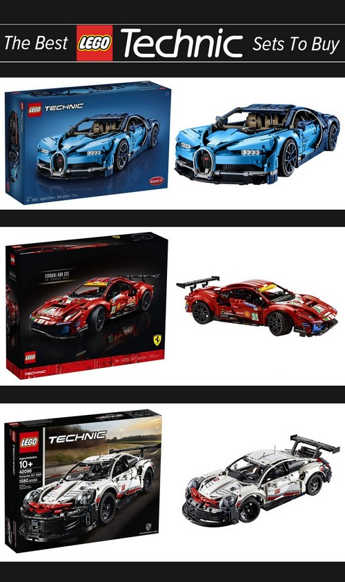 Best LEGO Technic Sets - What To Buy - Checklist and Buyers Guide