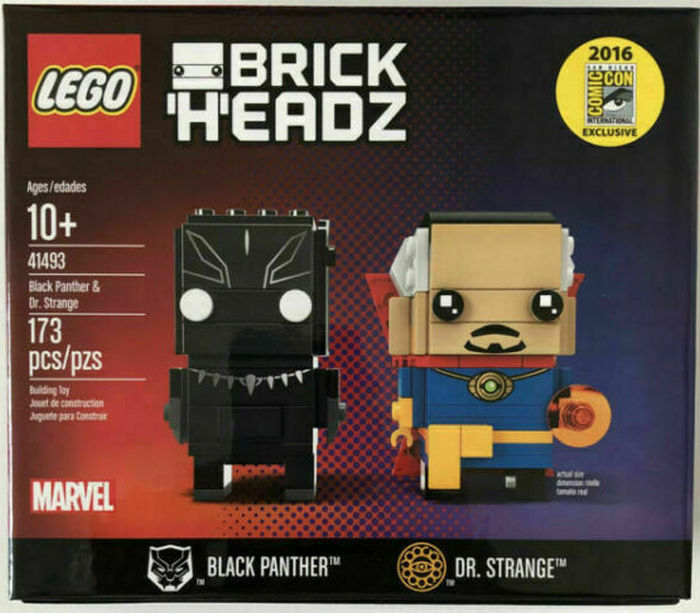 Product image - Black Panther and Dr. Strange (41493)