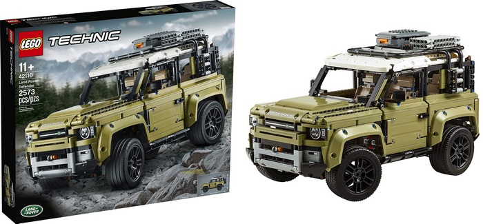Product image - Land Rover Defender 42110 Building Kit (2573 Pieces)