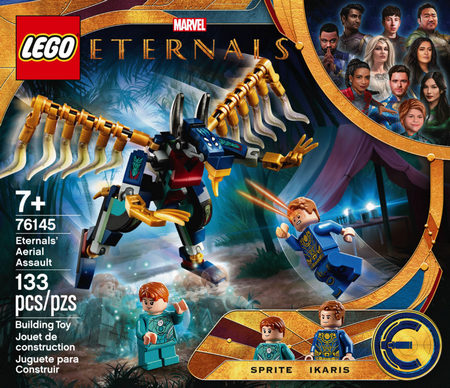 Product image - LEGO Marvel Eternals - Aerial Assault - 76145 (133 Pieces)