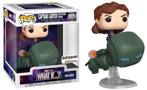 Product image - Marvel What If? Captain Carter and the Hydra Stomper Deluxe Funko Pop Vinyl - TBD Exclusive