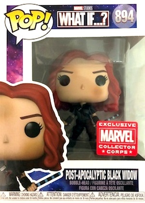 Product image - What If? - Black Widow Post Apocalyptic Black Widow 894 - MCC Marvel Collectors Corps Exclusive