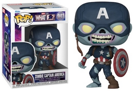 Product image - What If? 941 Zombie Captain America Funko Pop