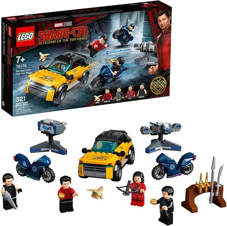 Product image - LEGO Shang-Chi Escape from The Ten Rings 76176 (321 Pieces)