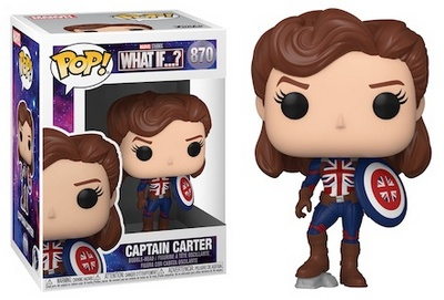 Product image - Funko Pop What If? Captain Carter