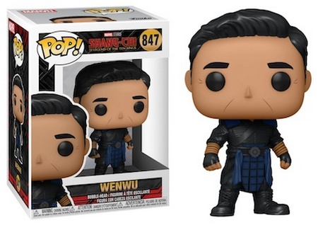 Product image - Shang-Chi - 847 Wenwu In Battle Armour Funko Pop Vinyl