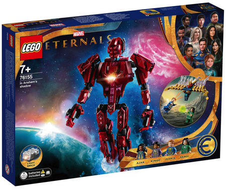 Product image - LEGO Marvel Eternals - In Arishem's Shadow - 76155 (493 Pieces)
