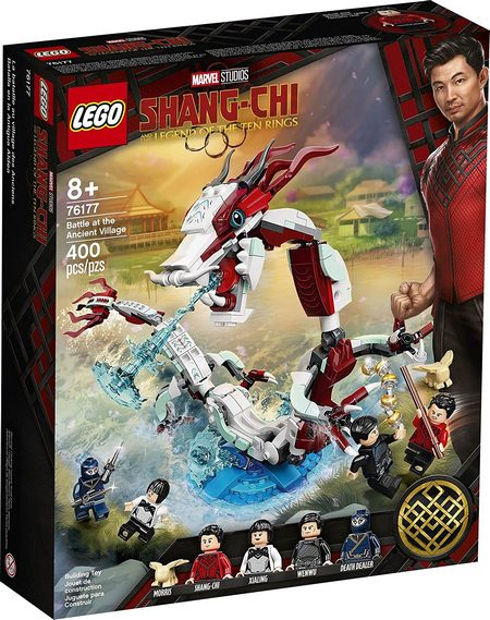 Product image - Shang-Chi Battle at The Ancient Village 76177 (400 Pieces)