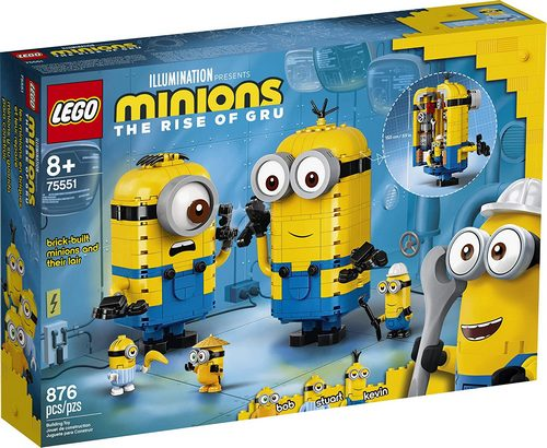 Product image - LEGO Minions The Rise Of Gru 75551 (876 Pieces)