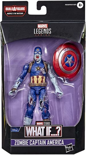 Product image - Marvel Legends Series - What If? - Zombie Captain America 6 inch Action Figure -BAF