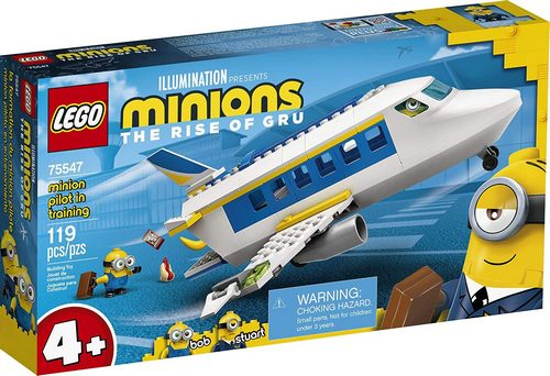 Product image - LEGO Minions: Minion Pilot in Training 75547 (119 Pieces)