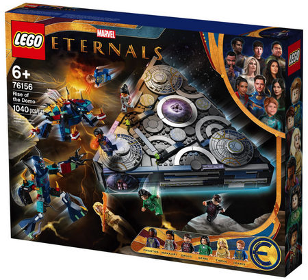 Product Image - LEGO Marvel Eternals - Rise of the Domo - 76156 (1040 Pieces)